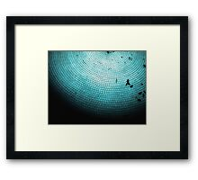 The Tile Framed Print