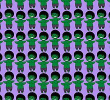 Hulk- Bruce Banner Kawaii bigger version by rainbowcho