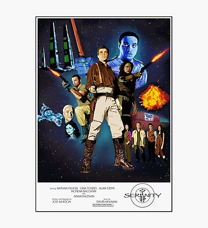 Serenity: The Alliance Strikes Back Photographic Print