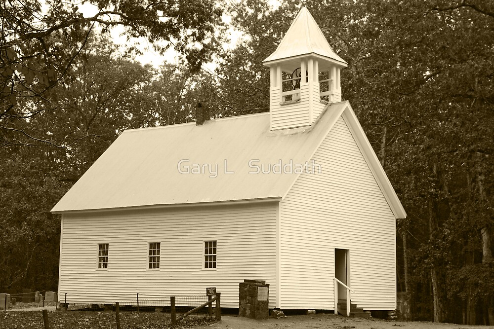 Primitive Baptist Church by Gary L   Suddath