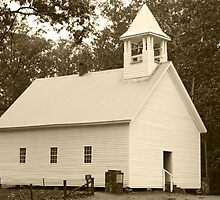 Primitive Baptist Church by Gary L   Suddath