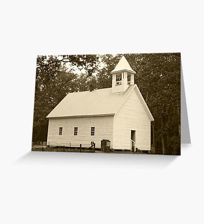 Primitive Baptist Church Greeting Card