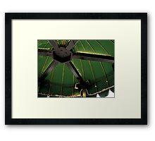 Green Tent Framed Print