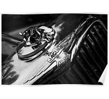 1947 Jaguar Poster