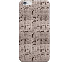 Newspaper // Journal iPhone Case/Skin