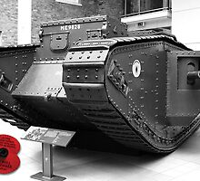 British Mark V Tank, 1918  by Colin  Williams Photography