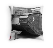 British Mark V Tank, 1918  Throw Pillow