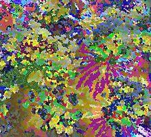 Spring Garden Color Explosion by jwforever2
