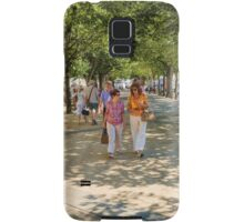 Stepping it out in La Rochelle, France Samsung Galaxy Case/Skin