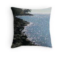 Sparkling Redcliffe Throw Pillow