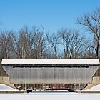 Columbus, Indiana Covered Bridge by Kenneth Keifer