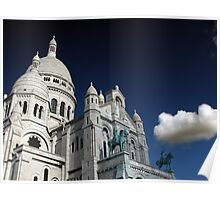 Sacre Cloud Poster