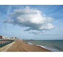 Cloud over Brighton Photographic Print