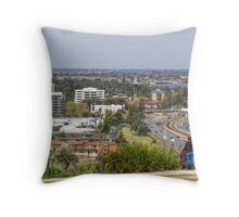 Perth City from Kings Park, Western Australia #3 Throw Pillow