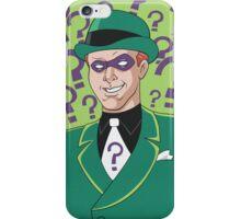 Riddler iPhone Case/Skin