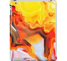 Yellow Sunshine Agate iPad Case/Skin