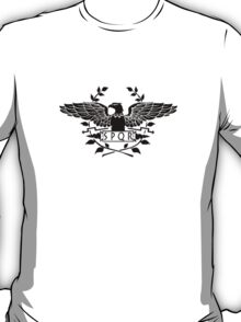 S.P.Q.R. black eagle T-Shirt