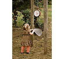 Leaning scale Photographic Print