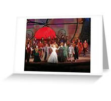 Cast of WICKED Greeting Card