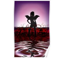 Gothic Angel Poster