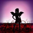 The Gothic Angel  by Arthur Carley
