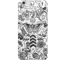One Direction tattoos iPhone Case/Skin