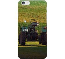 Farmer's pride taking a sunbath | transportation photography iPhone Case/Skin
