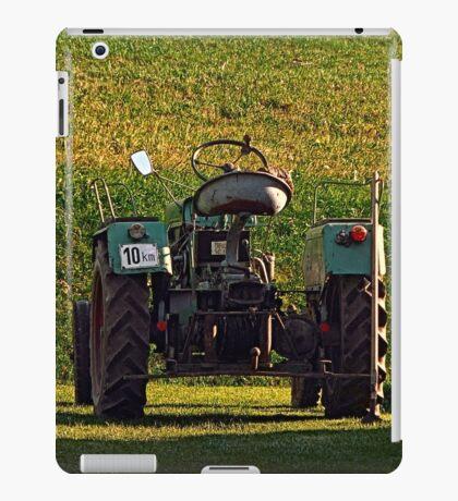 Farmer's pride taking a sunbath | transportation photography iPad Case/Skin