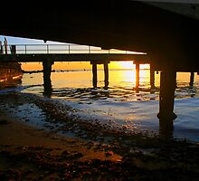 Black Rock Jetty Sunset - Victoria  Australia by bayside2