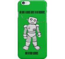 Robot Machines iPhone Case/Skin