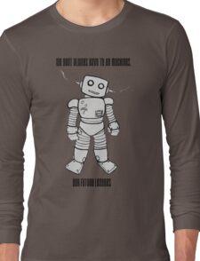 Robot Machines Long Sleeve T-Shirt