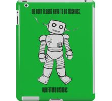 Robot Machines iPad Case/Skin