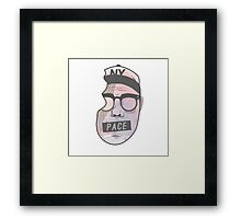 Skizzy Mars / Pace Framed Print