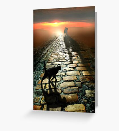 The Road to Eternity Greeting Card
