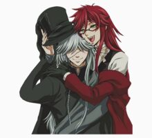 Grell, and Undertaker  Kids Clothes
