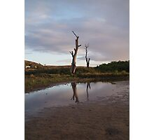 Reflections of the past. Photographic Print