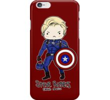 Star Spangled Man With a Plan iPhone Case/Skin