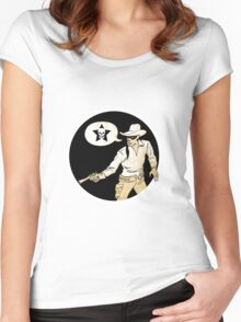 lone ranger Women's Fitted Scoop T-Shirt