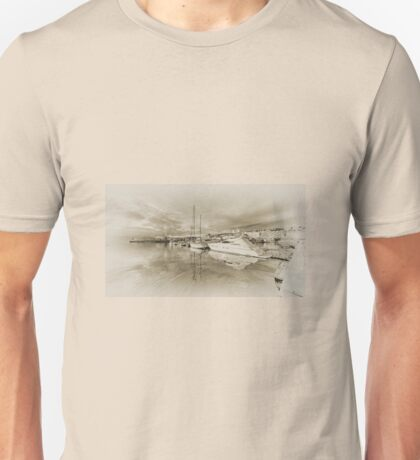Faded Reflections  Unisex T-Shirt