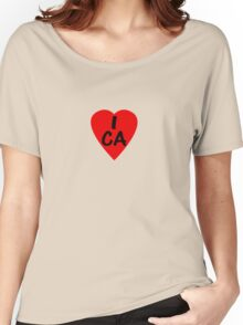I Love Canada - Country Code CA T-Shirt & Sticker Women's Relaxed Fit T-Shirt