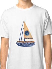 The Tribal Sailboat Classic T-Shirt