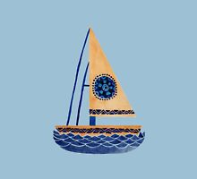 The Tribal Sailboat Unisex T-Shirt