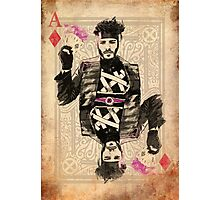 Ace of Diamonds Gambit Photographic Print