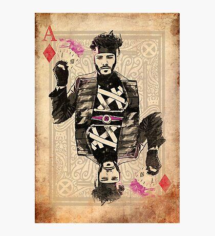 Ace of Diamonds Gambit Photographic Print