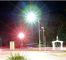 War Memorial at Night by Chris Nies