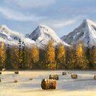Speedpaint Arctic scenery III by Richard Eijkenbroek