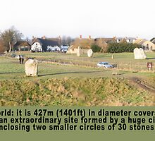 The Largest Stone Circle in the World - Avebury by Keith Richardson