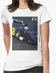 SAUBER F1 TEAM Womens Fitted T-Shirt