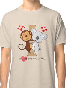 Koala-Monkey Love Classic T-Shirt