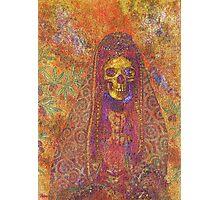 Gothic Decorative Skeleton Photographic Print